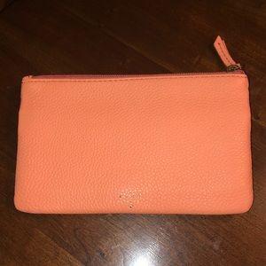 Fossil Peach Molly Clutch Wallet